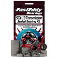 Team FastEddy - Axial SCX10 Transmission Sealed Bearing Kit - 2478