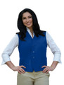 Cobalt Two Pocket Unisex Uniform Vest Available in Sizes Small to 5XL -  Item # 350-742