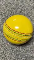 Tornado Cricket Crown Indoor Yellow Cricket ball