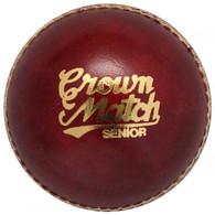 Gunn & Moore Crown Match Red Cricket Ball - 2 Piece Ball