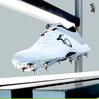 Kookaburra KC 3.0 Spike Grey/White Cricket Shoe -2020 Edition