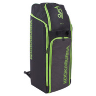 Kookaburra D3.0 Duffle Cricket Bag - 2020 Edition Black/Lime