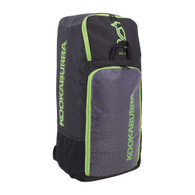 Kookaburra D5.0 Duffle Cricket Bag - 2020 Edition Black/Lime