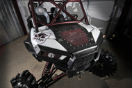 Polaris RZR 900 (15-17) Rogue Offroad Mesh Hood - Select Color