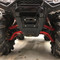 Honda Foreman 500 (14-18) Front Lower Arched A-Arms - Red