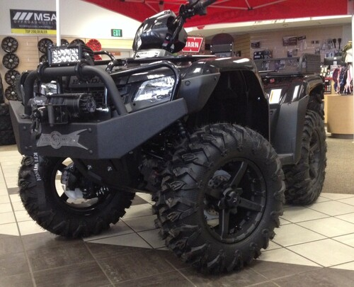 14 Honda Rancher >> Front Winch Bumper For Honda Rancher 420 14 18 Strong Made