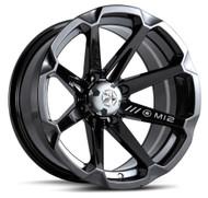"""15"""" MSA M12 Diesel Wheels - Black"""