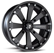 "16"" MSA M20 Kore Wheels - Black"