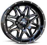 "14"" MSA M26 Vibe Wheels - Black"