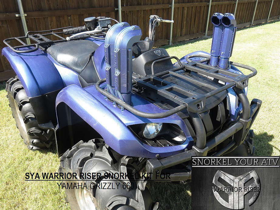 Grizzly 660 Snorkel Kit >> Snorkel Kit For Yamaha Grizzly 660 02 08 Sya Warrior