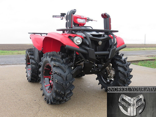 Yamaha Kodiak 700 SYA Warrior Snorkel Kit