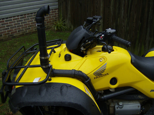 Honda Rancher 350 Snorkel Kit (Side View)