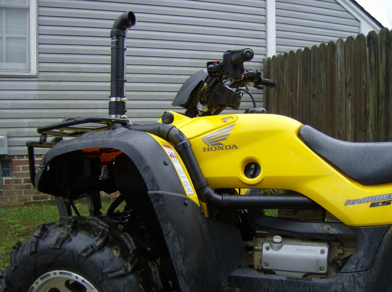 Snorkel Kit For Honda Rancher 350 04 06 Extreme Snorkels Wiring Diagram Besides Polaris 2014 Rzr 900 On Winch Click Here More Images