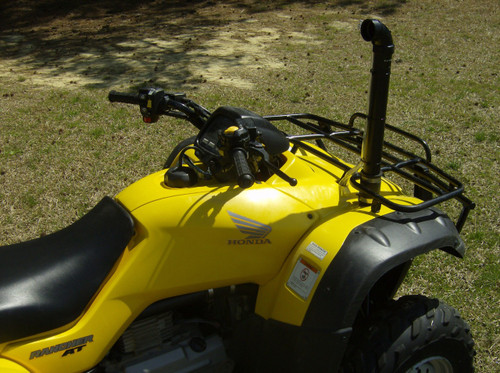 Honda Rancher 400 Snorkel Kit (Side View)
