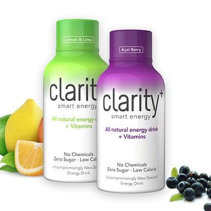 BUY Clarity All natural Energy Drinks online at LOTUSmart