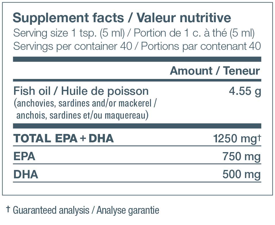 Ascenta NutraSea Omega-3 Liquid