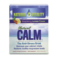 Natural Vitality Natural Calm Magnesium, Raspberry Lemon, 30 Packets | LOTUSmart (HK) - 香港樂濤