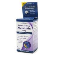 Natrol Advanced Sleep Melatonin, 10mg, 60 Tables 褪黑激素 (睡眠促進劑)   LOTUSmart (HK) - 香港樂濤