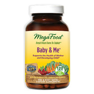 MegaFood Baby & Me, 120 Tablets - 孕婦綜合維他命, 120粒 | LOTUSmart (HK) - 香港樂濤