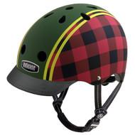 - Nutcase Lumberjack, Nutcase 頭盔, bicycle helmet, 單車頭盔, kids helmet, 兒童頭盔, 小童頭盔, Nutcase, Nutcase 香港, Nutcase Hong Kong,  - Front View with Visor