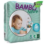 Bambo Nature Junior Diapers, Size-5, Large, 12-22 Kg, 27 ct./Pack - 丹麥嬰兒紙尿片, 5號, L碼 12-22 Kg (27片/包) | LOTUSmart (HK) - 香港樂濤