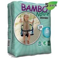 Bambo Nature Training Pants, Size-5, Large, 12-20 Kg, 20 ct./Pack - 丹麥嬰兒訓練褲, 5號, L碼 12-20 Kg (20片/包)  | LOTUSmart (HK) - 香港樂濤