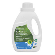 Seventh Generation Natural 2X Concentrated Laundry Liquid, Free & Clear - 雙倍超濃縮天然洗衣液, 無香味 | LOTUSmart (HK) - 香港樂濤