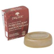 Druide Organic Purifiying Clay & Tea Tree Soap Bar (100g) 加拿大有機黏土茶樹抗菌香皂 100克 | LOTUSmart (HK) - 香港樂濤