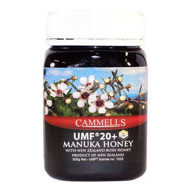 New Zealand Cammell's UMF 20+ Manuka Honey, 500g  紐西蘭 純天然 UMF20+ 麥蘆卡蜂蜜 500克| LOTUSmart (HK) - 香港樂濤