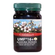 New Zealand Cammell's UMF 16+ Manuka Honey, 500g  紐西蘭 純天然 UMF16+ 麥蘆卡蜂蜜 500克| LOTUSmart (HK) - 香港樂濤
