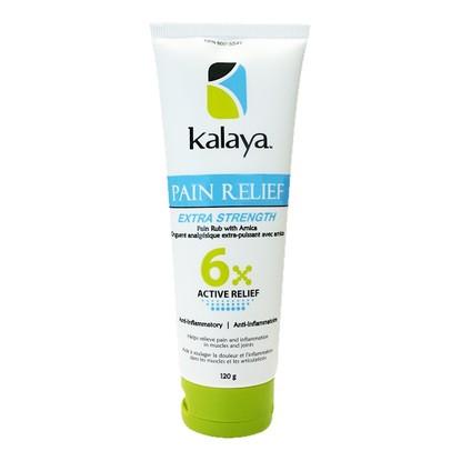 Kalaya Naturals 6x Pain Relief, Extra Strength (120g) 天然強效滲透摩擦膏 (止痛膏),  120克  | LOTUSmart (HK) - 香港樂濤
