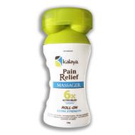 Kalaya Naturals Roller Pain Relief 6X Massager (120g) 天然強效滲透止痛膏, 滾輪式按摩 (120克)  | LOTUSmart (HK) - 香港樂濤