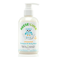 Reese and Luke Baby Shampoo & Body Wash - Unscented (8 fl oz)  嬰兒洗髮沐浴乳 - 無香味 | LOTUSmart (HK) - 香港樂濤