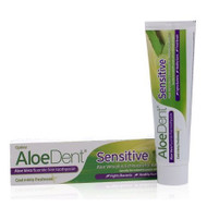 AloeDent Aloe Vera Sensitive Fluoride Free Toothpaste 100ml 英國蘆薈防敏感無氟牙膏 100毫升 | LOTUSmart (HK) - 香港樂濤