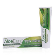 AloeDent Aloe Vera Triple Action Fluoride Free Toothpaste 100ml 英國蘆薈全效健齒無氟牙膏 100毫升 | LOTUSmart (HK) - 香港樂濤