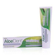 AloeDent Aloe Vera Whitening Fluoride Free Toothpaste 100ml 英國蘆薈加強美白無氟牙膏 100毫升 | LOTUSmart (HK) - 香港樂濤