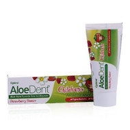AloeDent Aloe Vera Strawberry Children's Fluoride Free Toothpaste 50ml 英國蘆薈兒童士多啤梨味無氟牙膏 50毫升 | LOTUSmart (HK) - 香港樂濤