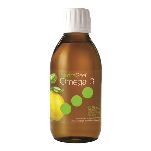 NutraSea Omega-3 Liquid,  Lemon, 200ml  | LOTUSmart (HK) - 香港樂濤