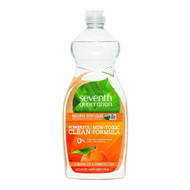Seventh Generation Natural Dish Liquid, Lemongrass & Clementine Zest - 天然碗碟清潔液, 香茅及柑橘皮香味 | LOTUSmart (HK) - 香港樂濤
