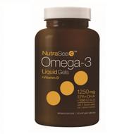 NutraSea Omega-3 Liquid Gels with Vitamin D, 60 count  加拿大奥米加 3 丸與維他命 D | LOTUSmart (HK) - 香港樂濤