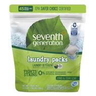 Seventh Generation Laundry Detergent Packs (45ct.) - Citrus & Cedar 天然洗衣粉 (獨立包裝 , 45包) - 柑橘雪松味 | LOTUSmart (HK) - 香港樂濤