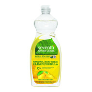 Seventh Generation Natural Dish Liquid 25oz. : Fresh Citrus & Ginger 天然碗碟清潔液 - 柑橘與薑香味 | LOTUSmart (HK) - 香港樂濤