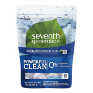 Seventh Generation Automatic Dishwasher Packs (20ct.) - Free & Clear 洗碗碟機洗潔精包 (20包) - 無香味| LOTUSmart (HK) - 香港樂濤