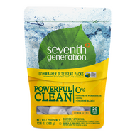 Seventh Generation Automatic Dishwasher Packs (20ct.) - Lemon 洗碗碟機洗潔精包 - 檸檬味 | LOTUSmart (HK) - 香港樂濤
