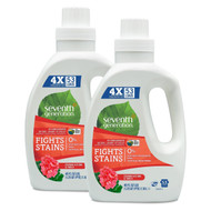 Seventh Generation Natural 4X Laundry Liquid - Geranium Blossoms & Vanilla 40oz (Pack of 2) 四倍超濃縮天然洗衣液 - 天竺葵香草味 40安士(兩支裝)  | LOTUSmart (HK) - 香港樂濤
