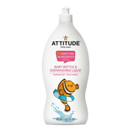 ATTITUDE Living Baby Bottle & Dishwashing Liquid, Fragrance free, 700ml 嬰兒奶樽及碗碟清潔劑 (無香味) | LOTUSmart (HK) - 香港樂濤
