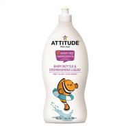 ATTITUDE Living Baby Bottle & Dishwashing Liquid, Sweet Lullaby, 700ml 嬰兒奶樽及碗碟清潔劑 (甜夢香) | LOTUSmart (HK) - 香港樂濤