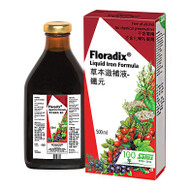 Salus Floradix Liquid Iron, 500ml - 草本滋補液 - 鐵元, 500毫升 | LOTUSmart (HK) - 香港樂濤