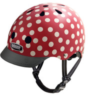 - http://www.lotusmart.com/nutcase-helmets-simiminidots/ - Front View with Visor - Nutcase Helmet, SimiMiniDots, Bicycle Helmets  - 單車頭盔, 小紅帽  | LOTUSmart (HK) Hong Kong - 香港樂濤