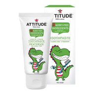 ATTITUDE Baby Toothpaste, Strawberry 75g - 嬰兒無氟吞嚥安全牙膏 (士多啤梨味) | LOTUSmart (HK) - 香港樂濤